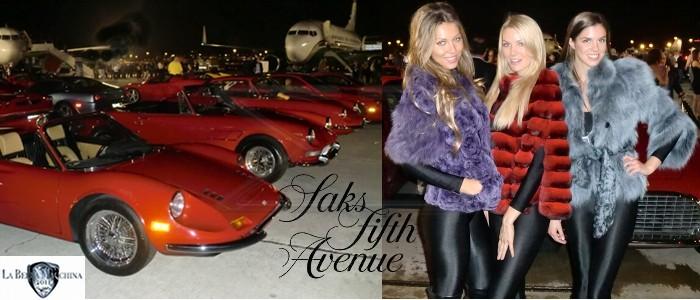 La Bella Macchina 2011 at Jet Aviation Sponsored by Saks Fifth Avenue Palm Beach