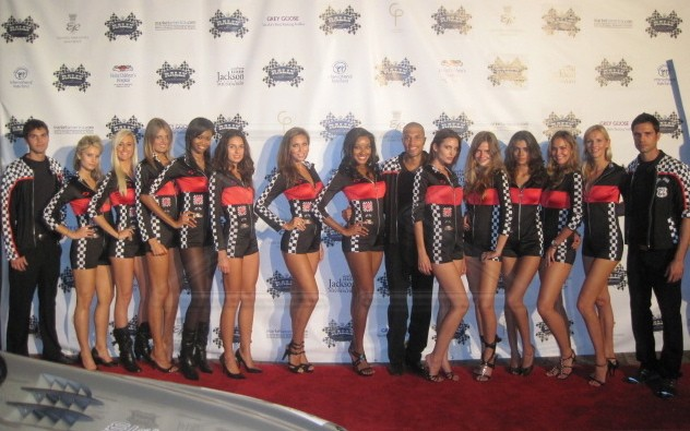 Los Angeles Trade Show Modeling For Anime Expo 2011