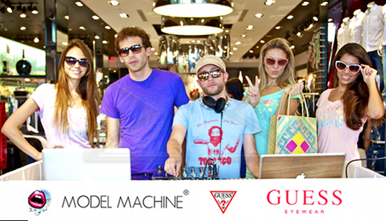 Some Like it Hot! – Brand Ambassadors for Guess Eyewear Shades of Summer Event
