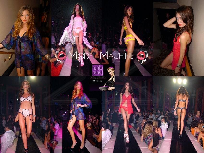 Trade Show Models | Las Vegas International Lingerie Show | Event Models