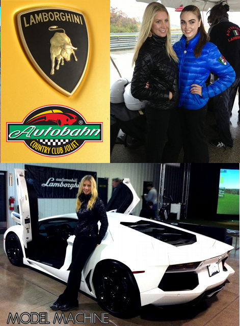 Promotional Models Chicago Live it up with Lamborghini