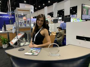 San Diego Model Product Specialist Stars at APEX Expo for MirtecUSA