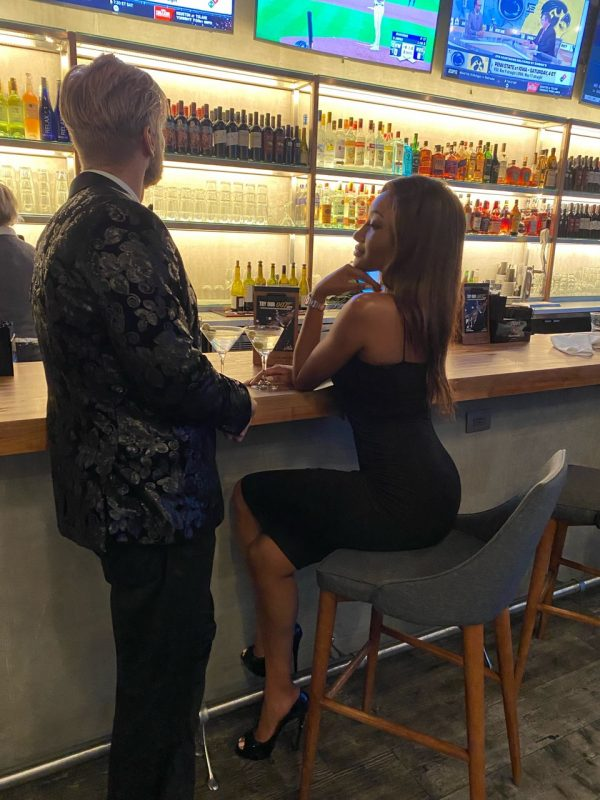 "Models in Naples, Florida, at Silverspot Cinema Mercato for ""Bond"" Premiere"